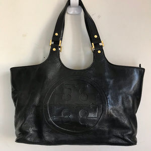 Tory Burch Blaack Extra Large Tote Bag